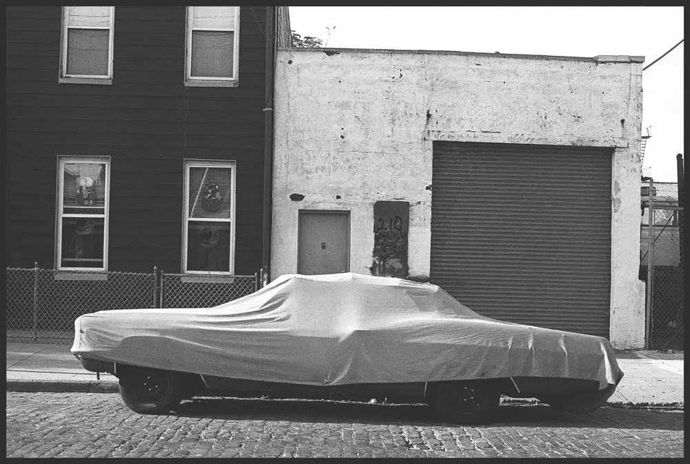 Covered Car, Conover Street, 1985