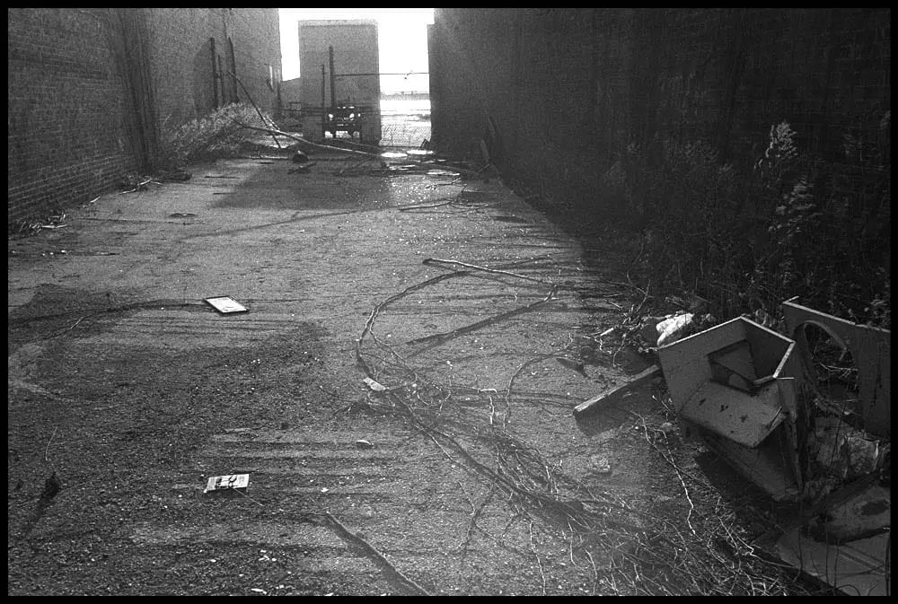 Alley, Red Hook, 1987
