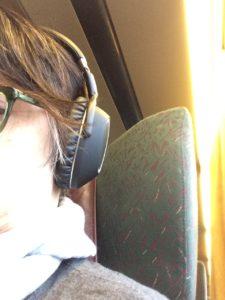 Headphones for Quiet Train Travel