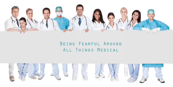 medical phobias, needle phobias, hospital phobias, dentist phobias