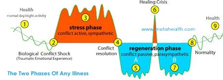 META-Health Two phases of disease