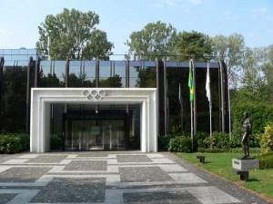 Die IOC-Zentrale