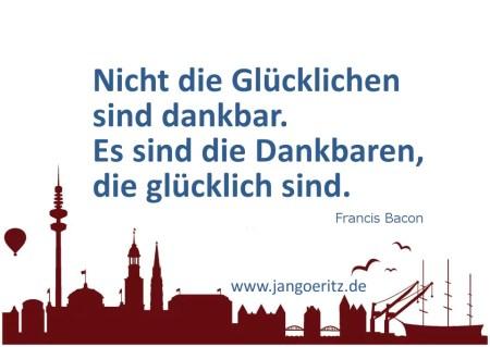 Dankbarkeit und Besinnung - Jan Göritz - Heilpraktiker für Psychotherapie und Psychologischer Berater, Hamburg