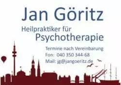 Praxisschild der Psychologischen Praxis Jan Göritz