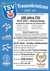 TSV Plakat