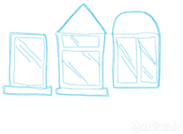 Fenster zeichnen ganz leicht
