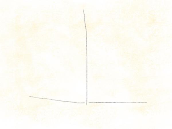 Kastanienblatt zeichnen – 02