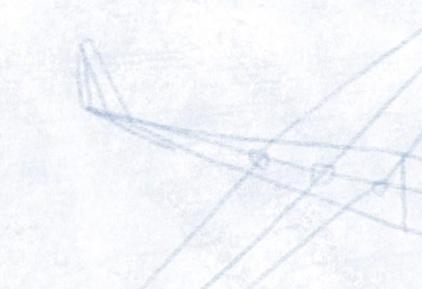 Segelflugzeug - Heckruder die erste