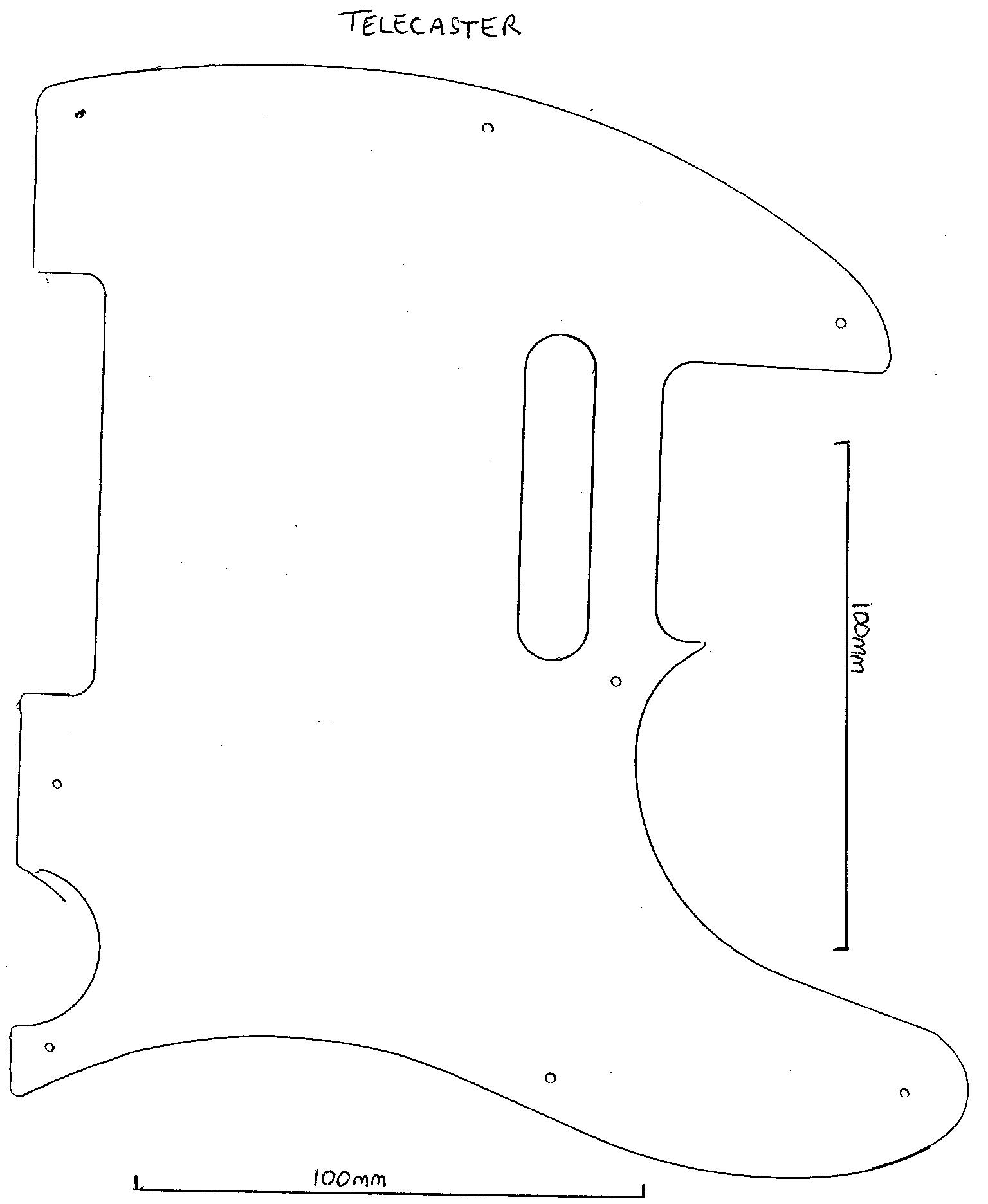 Fender Telecaster Guitar Wiring