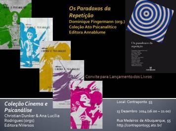 Psicanalista lança livro sobre Cinema e Psicanálise