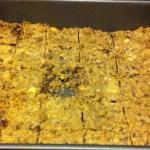 Hurricane Sandy Chocolate Chip Cookie Bars: