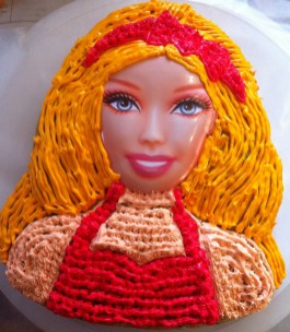 The Barbie Cake!!