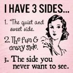 What Has Three Sides??