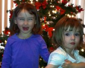 Sisters and Lily Who Didn't Want to Be Photographed!!