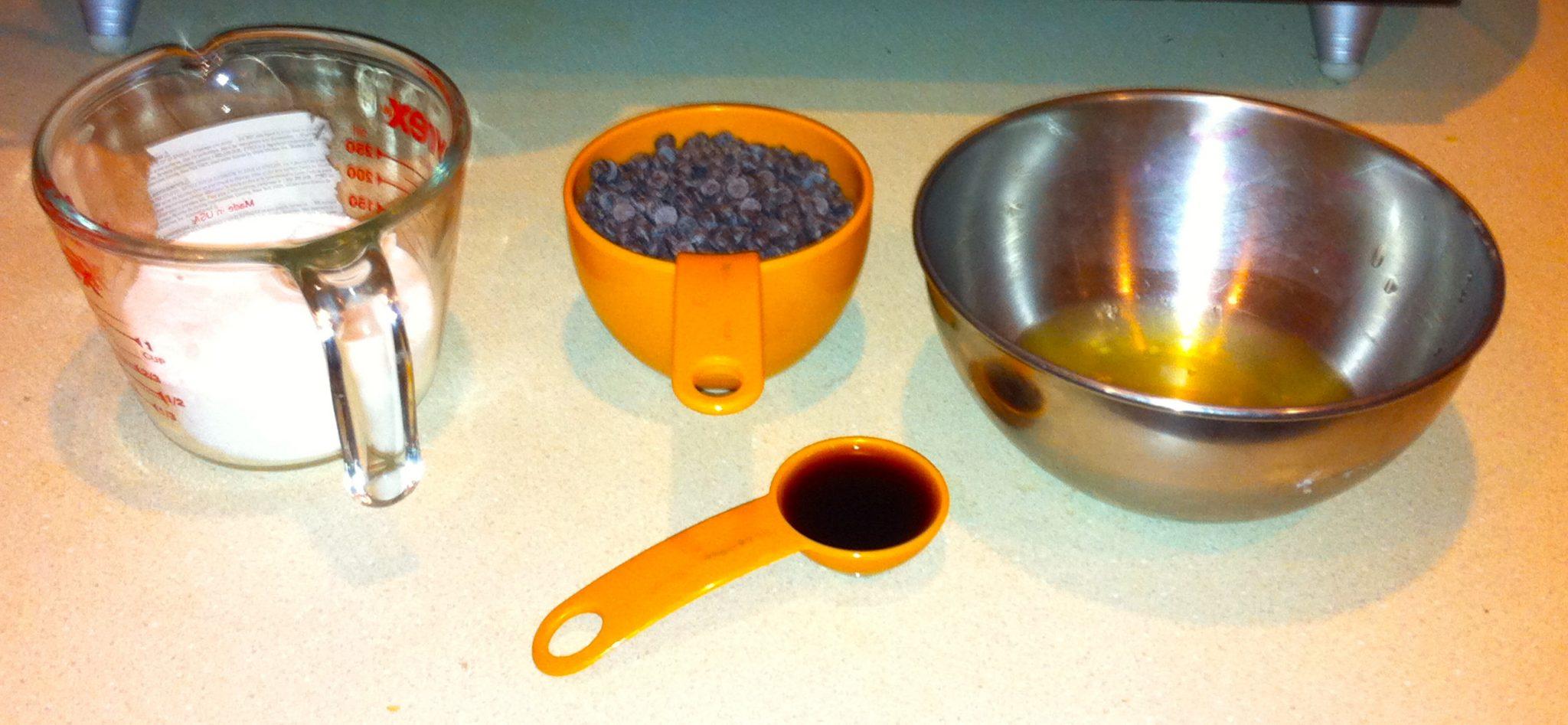 Meringue Cookie Ingredients