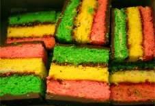 Three Colored Cookie Recipe