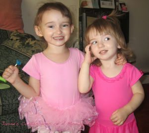 My Two Dancing Princesses!!