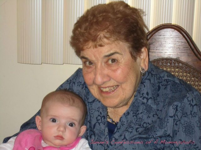 Auntie Anne and Lily--Spring 2011