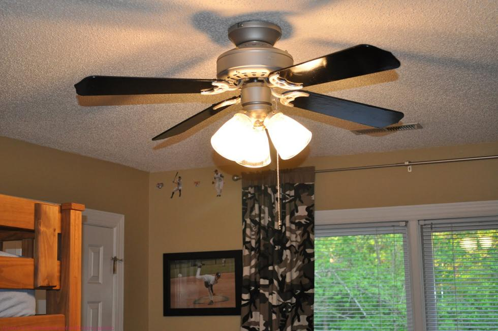 One Great Way to Save--A Ceiling Fan