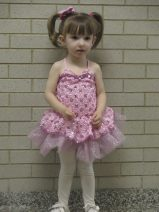 Lily's Pink Dance Recital Costume