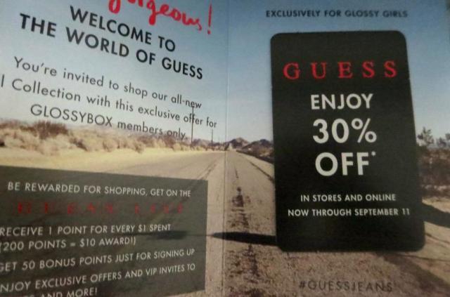 Guess 30% Off Coupon