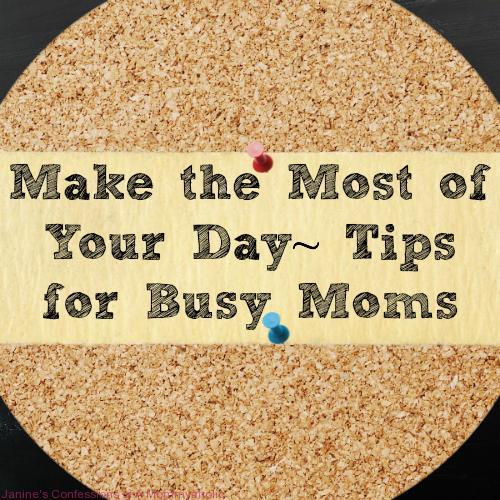 Busy Mom Tips