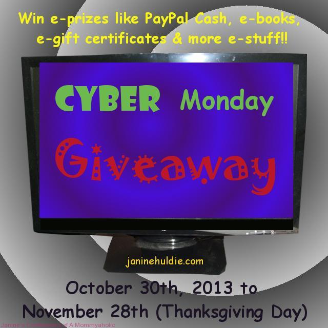 GiveawayCyberMondayCo-host