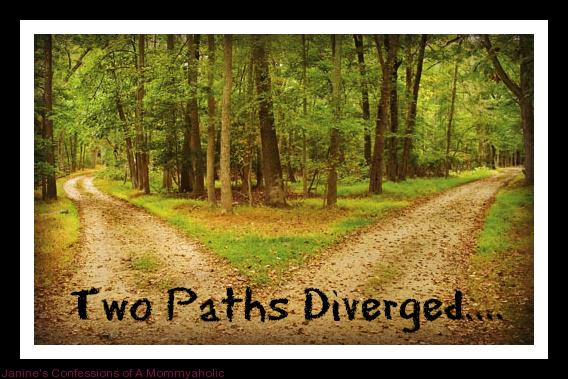 Two Paths Diverged...