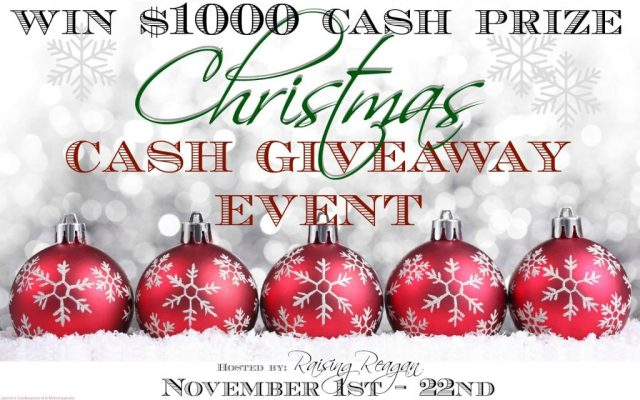 Christmas Cash Giveaway Event $1000
