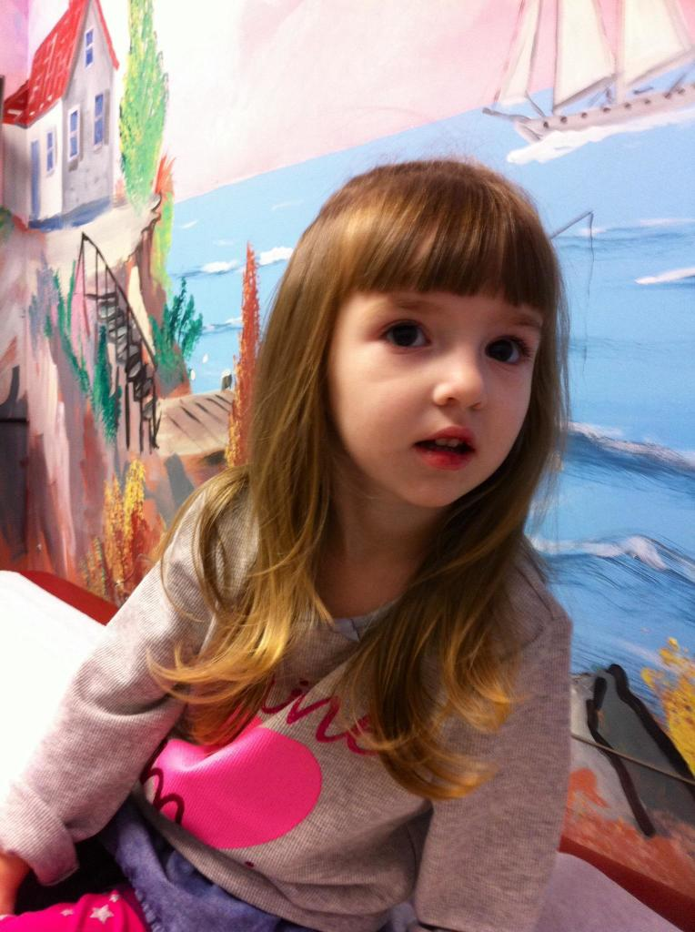 Lily at Her 3 Year Old Checkup