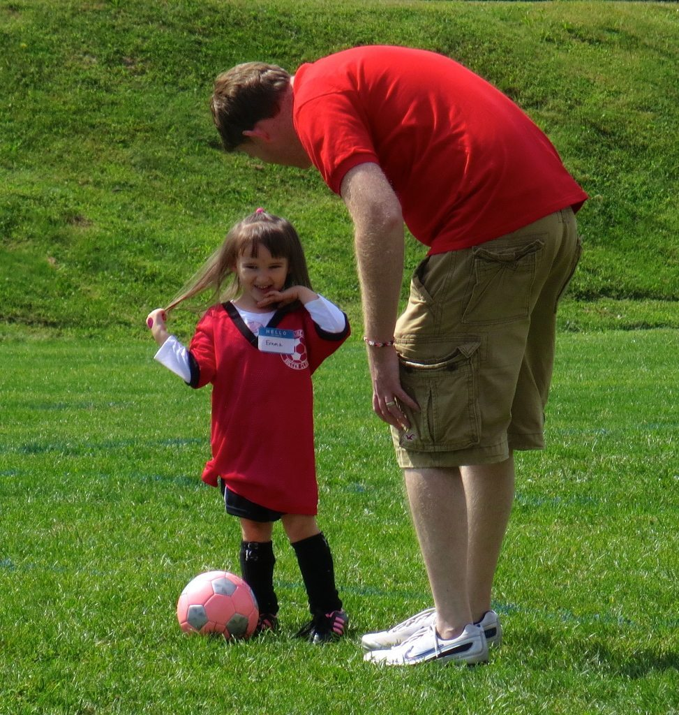 Fall Soccer with Coach Daddy!