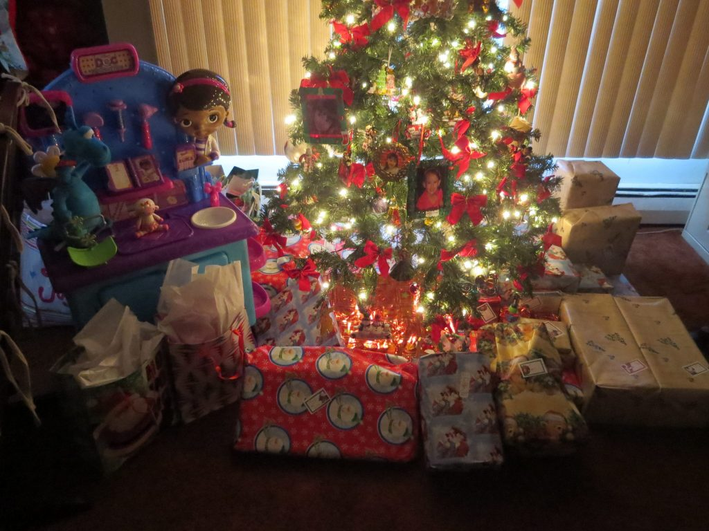 Closer Shot - Santa Really Came