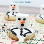 Melting Snowmen Cookies Fun Family Recipe