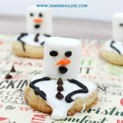 Melting Snowmen Cookies Fun Family Recipe