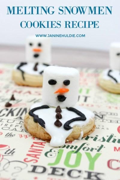 Melting Snowmen Cookies Recipe Short Pin 2