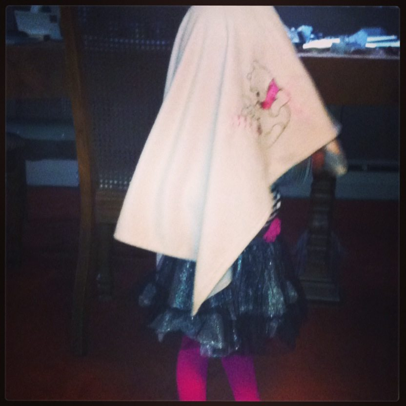 My Comedian Lily Pretending to Be A Ghost!