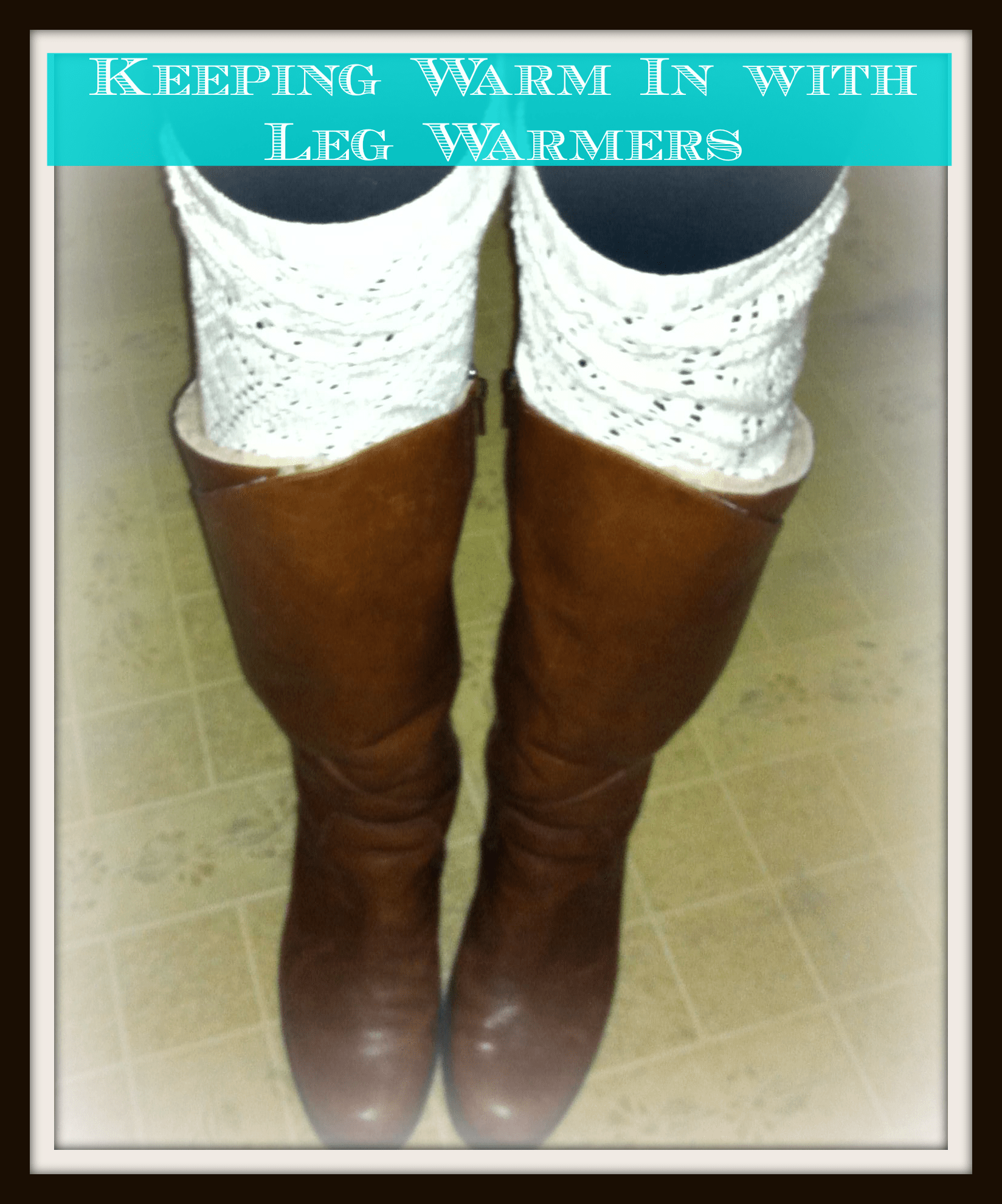 Leg Warmers, This Mom's Confessions