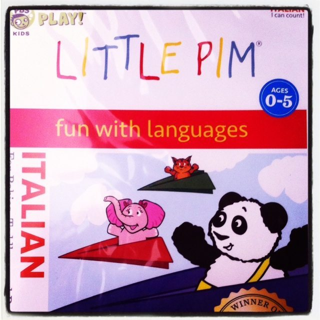 Little Pim Learns Italian