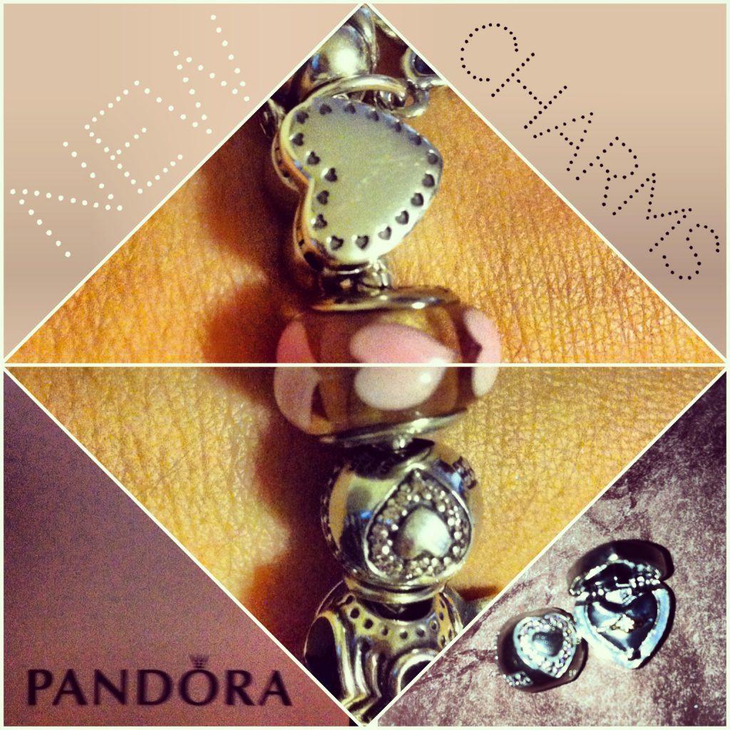 Pandora Valentne's Charms