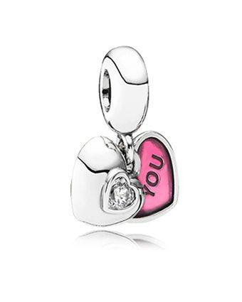 Pandora You and Me Charm