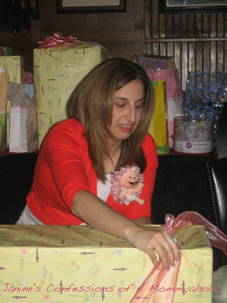 Me 8 months pregnant back in 2009 at my baby shower