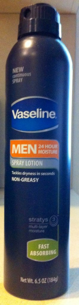 Vasoline Men Spry Lotion