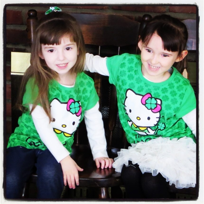 The Girls on St. Patrick's Day