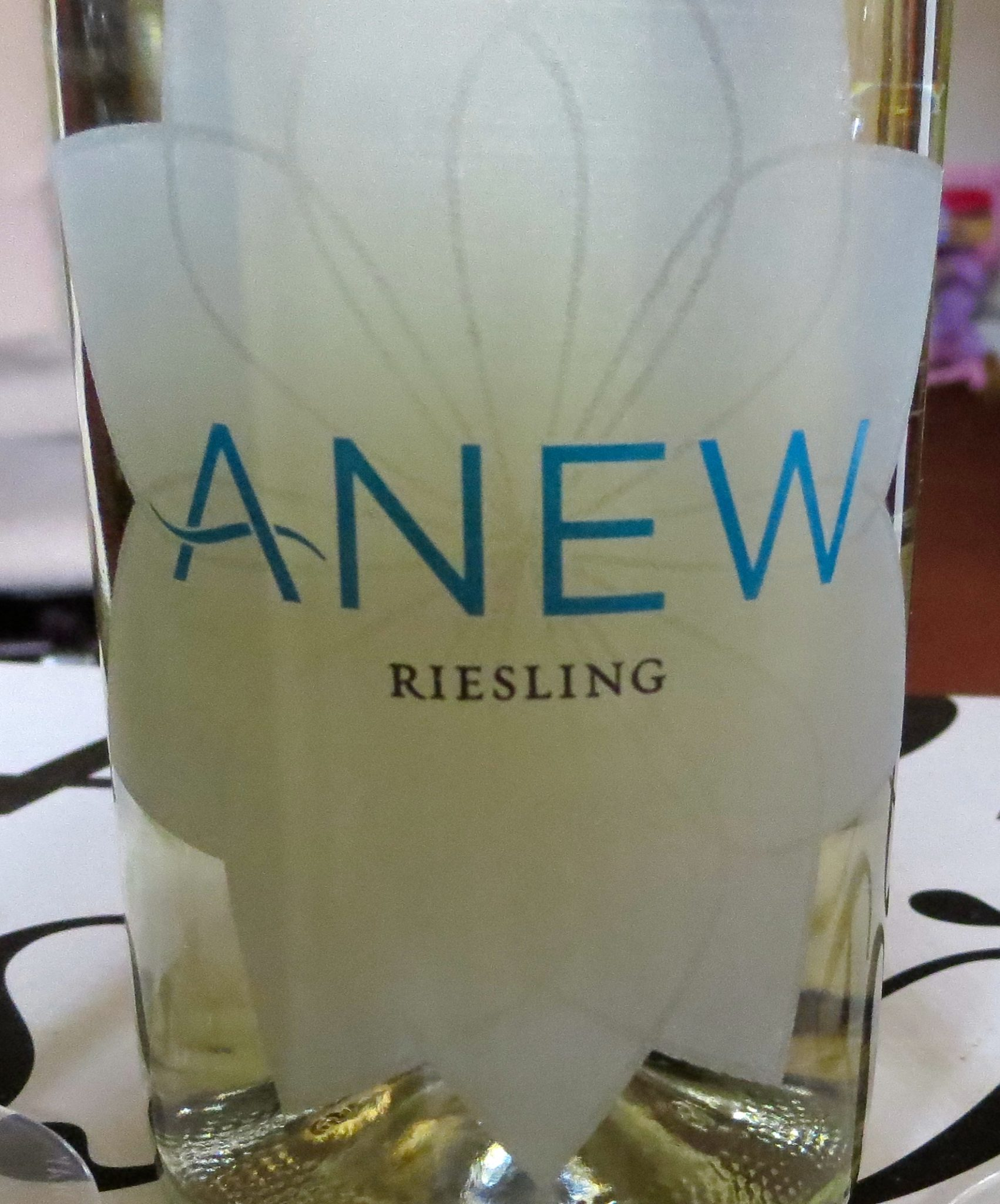 Anew Wine Label