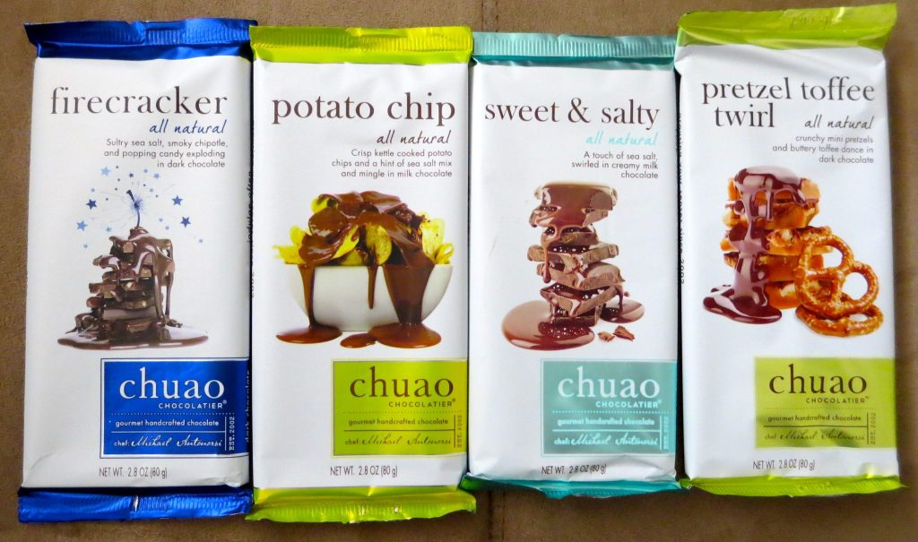 Chuao Chocolate Samples