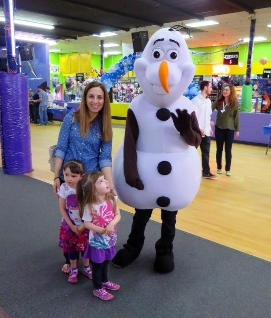 Photo with Olaf