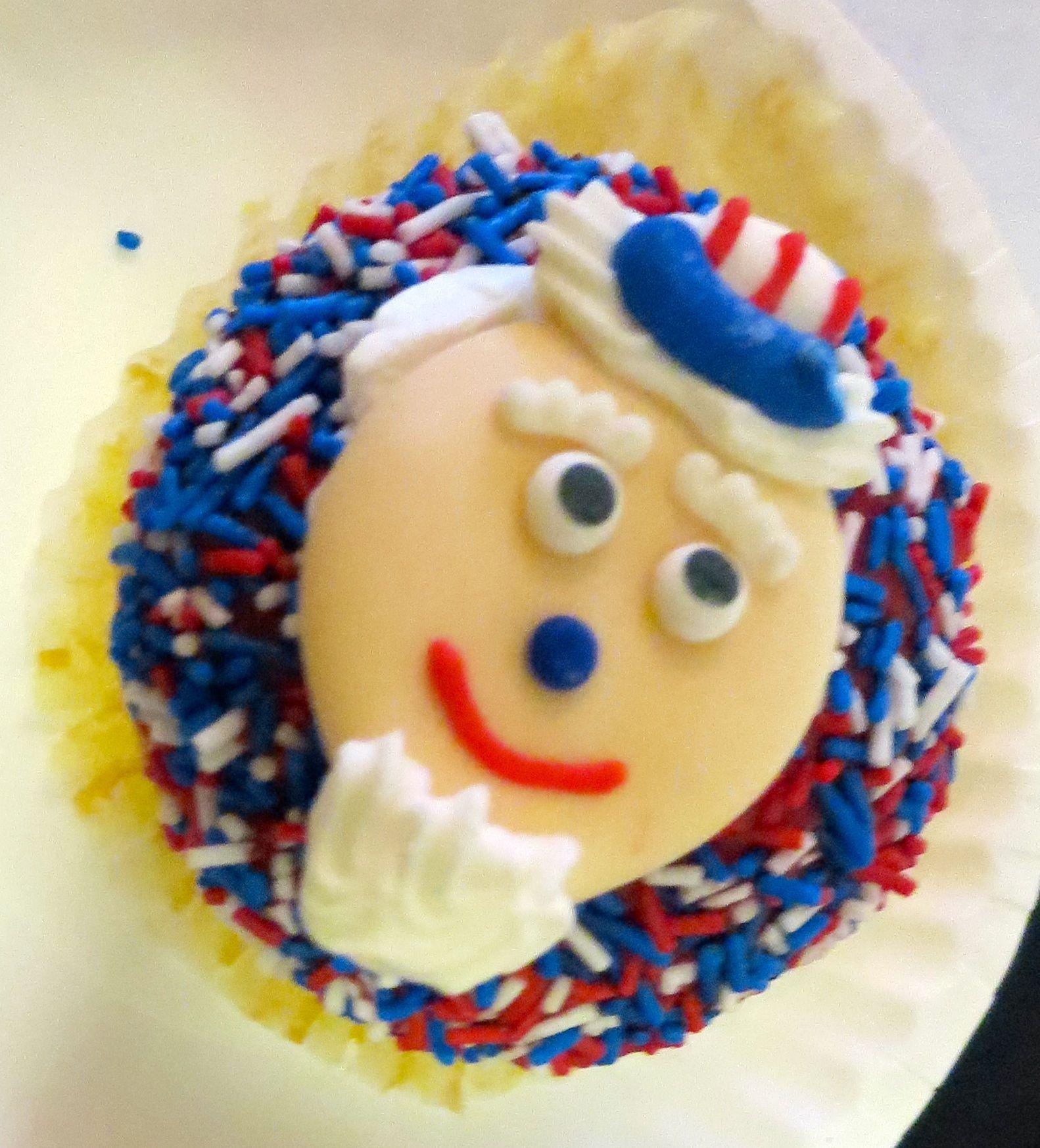 4th-of-july-cupcake