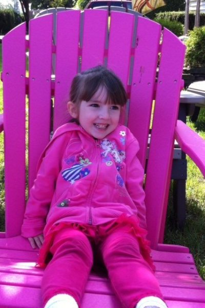 Lily Sitting Pretty in Pink Chair