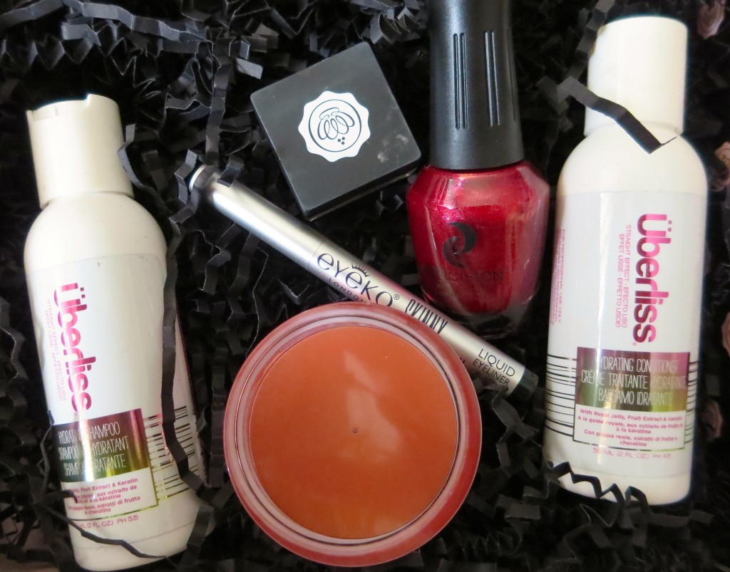 Glossybox 2014 Contents