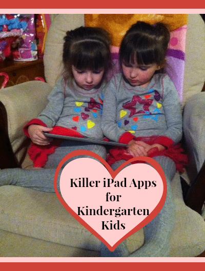 Killer iPad Kindergarten Apps for Kids